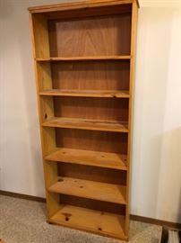 4 Maple Bookshelves