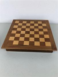 Antique Chess Set, Wood
