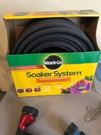 Soaker System, one new, one used, with accessories