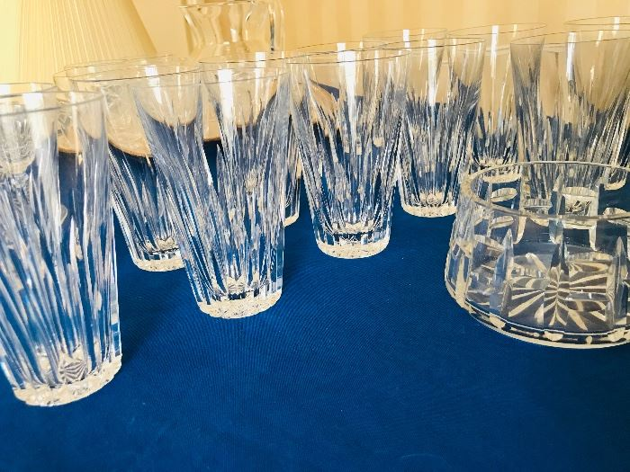 Waterford water glasses
