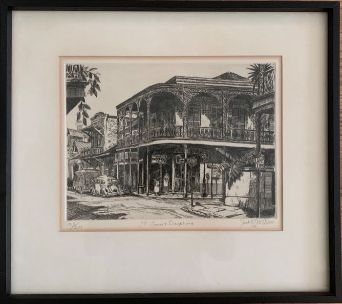 "Engraving; ""St.. Louis at Dauphine"""