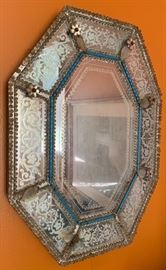 Antique Venetian Mirrror