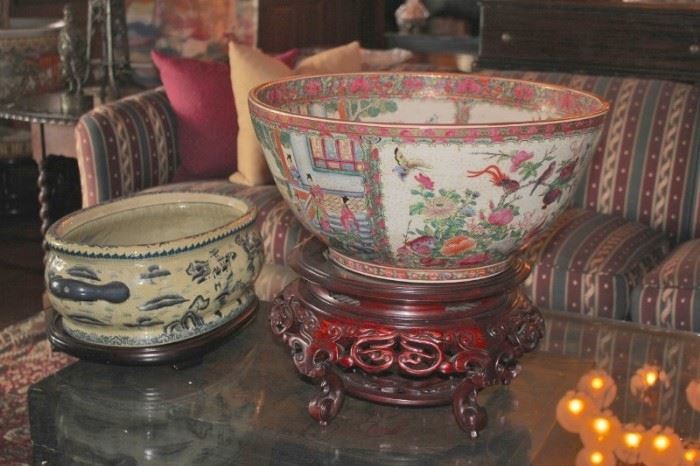 Assorted Decorative Bowls