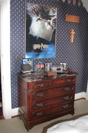 Dresser and Harry Potter Poster