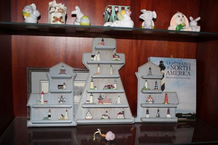 Collection of Lighthouse Miniatures
