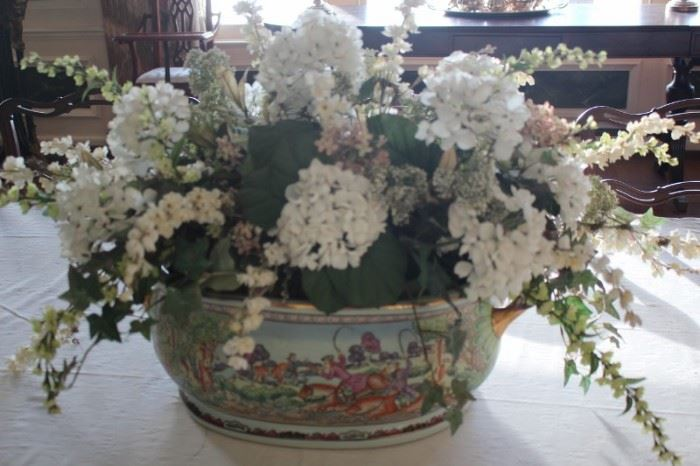 Decorative Bowl and Arrangement
