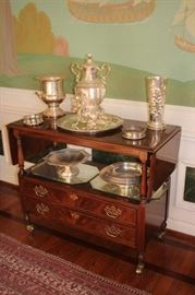 Cabinet and Decorative Items