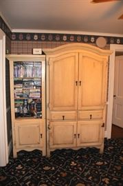 Hutch and Armoire