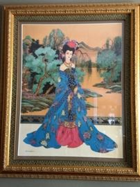 Over 200 pieces of Framed Art!!