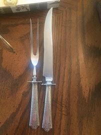 Antique sterling cutlery