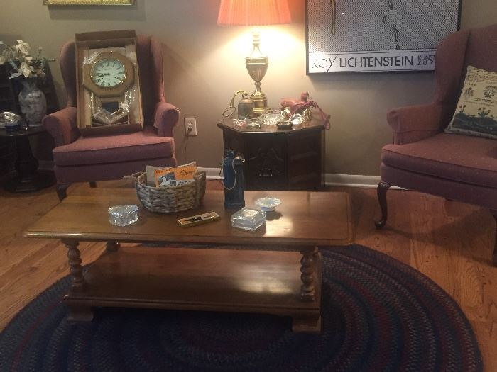 Vintage Ethan Allen coffee table