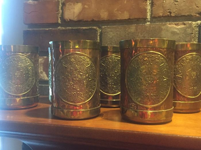 Copper/ Brass drinking cups