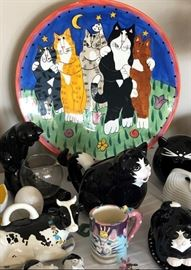 Whimsical Cake Plates, Teapots, Serving Bowls, Platters and more...
