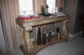 Schnadig sofa table
