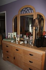 Broyhill mirrored chest