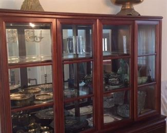 Mid century china cabinet