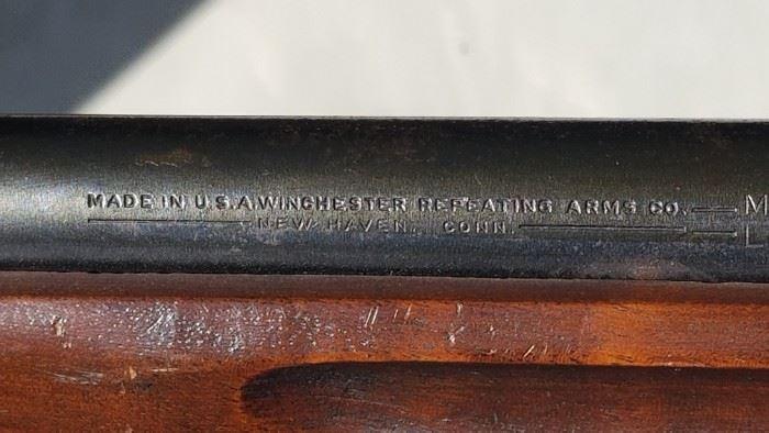 Rifle maker's mark