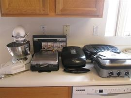 Array of Small Appliances