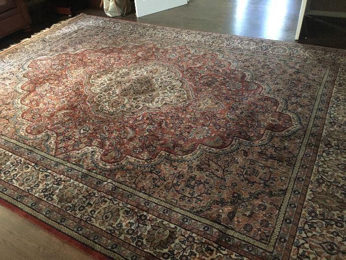 9'x12' wool carpet