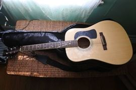 Washburn Electric Acoustic Guitar and Case