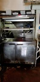 Beverage Air Low Bow Fridge with Custom Built Top ...