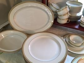 More of the Haviland Limoges china set