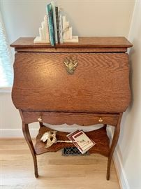 small vintage desk table