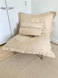 Contemporary Ligne Roset fireside chair