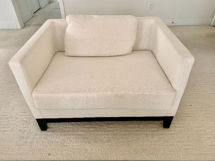 Maurice Villency upholstered chair
