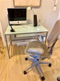 Contemporary desk/chair.