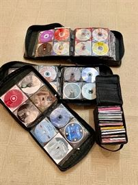 Hundreds of CDs