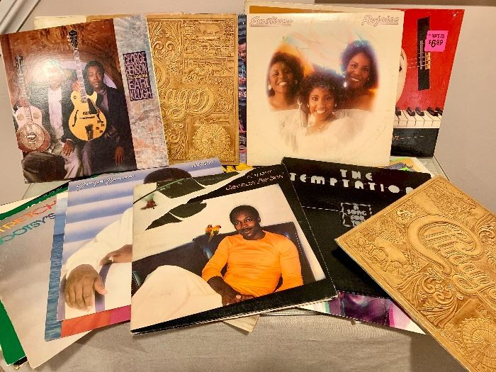 Collection of albums (classic rock, jazz, blues and dance)