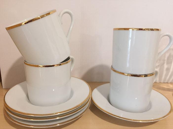Tiffany espresso cups