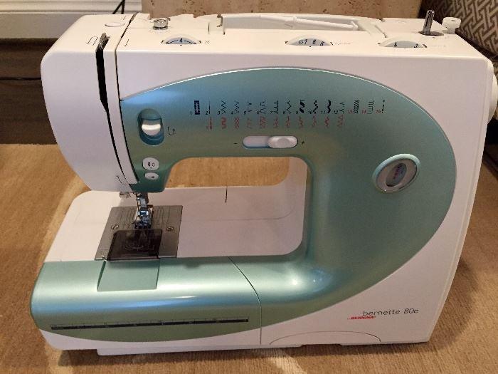 Bernina 'berennte 80e/2006' sewing machine