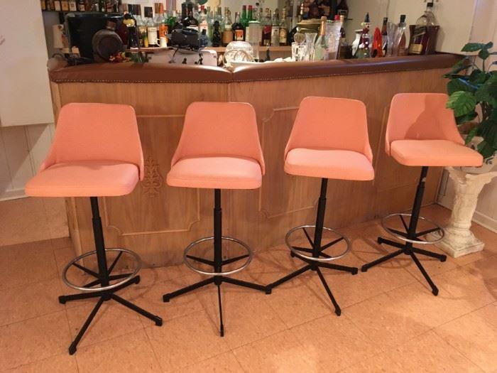 Mid-mod bar chairs