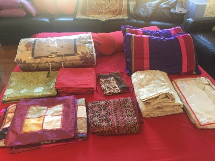Fabrics, Pillows, and more
