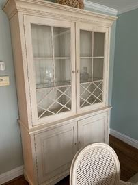 Beautiful contemporary casual dining room set by Ethan Allen