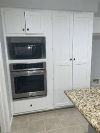 Built-In Oven and Counter Microwave with Toaster!