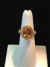 Another view of Elizabeth Locke designed ring