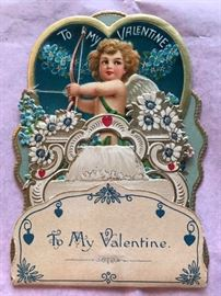 We have antique Victorian Valentines!!