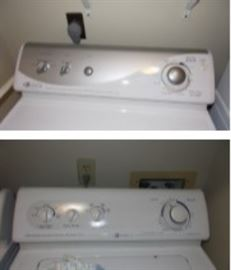 Washer and dryer - newer set