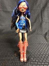 2011 Monster High First Wave Rebecca Steampunk Bronze Robot Girl