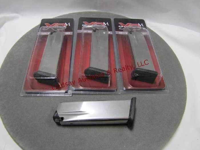 97 - (4) 3 - NIP Springfield XDM .45 ACP mags