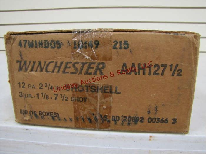 103 - (1) case of 250 rds - 10 boxes of 25 Winchester