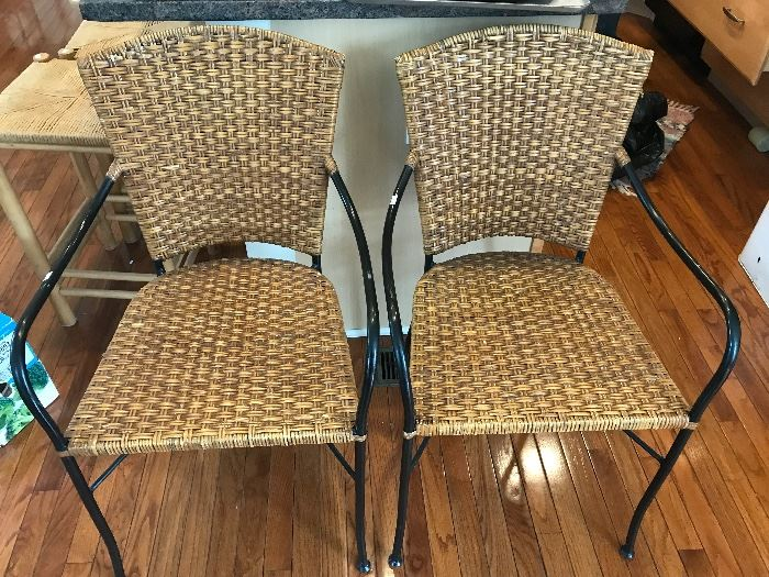 Two of four chairs