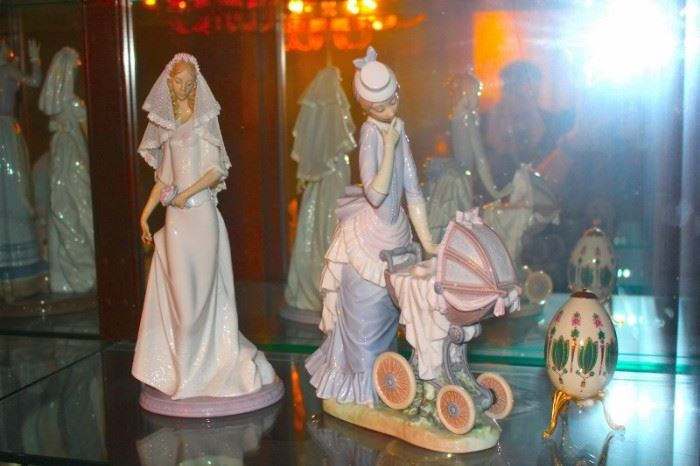 30+ Lladro's in Many Sizes