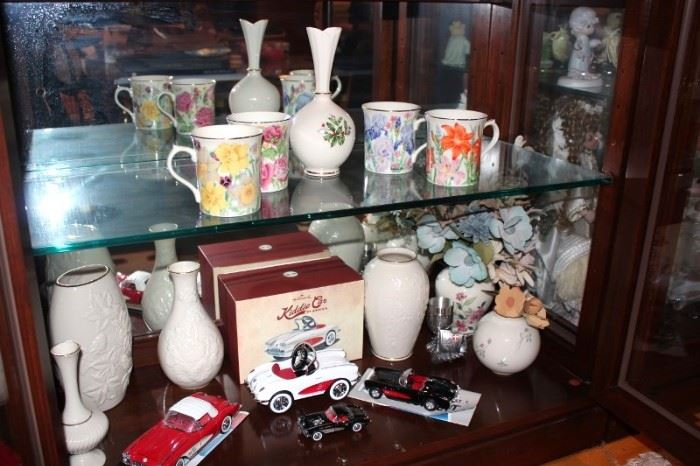Vases and Mugs with Cars
