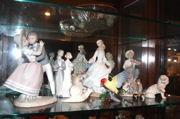Lladros and other Figurines