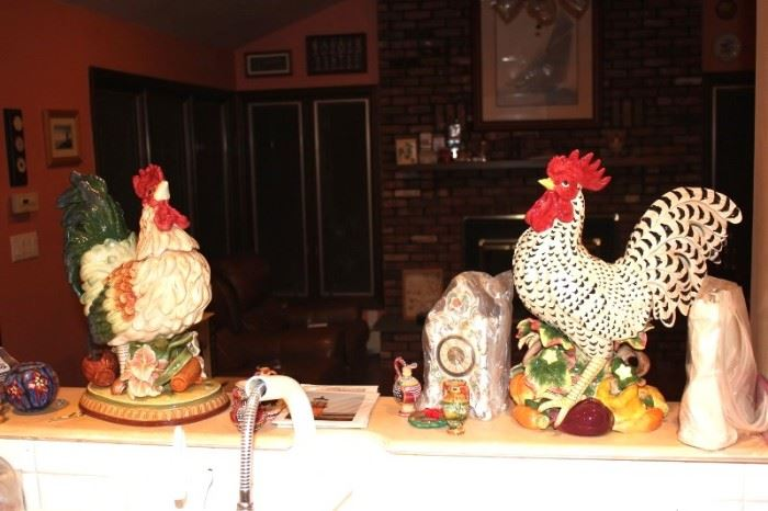 Decorative Roosters and other Decorative