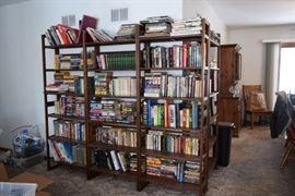 Shelving Units & Books